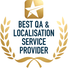 Nominate Best QA & Localisation Service Provider